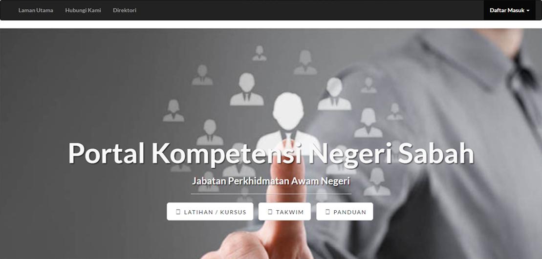 Portal Aplikasi Jabatan Perkhidmatan Awam Negeri Sabah